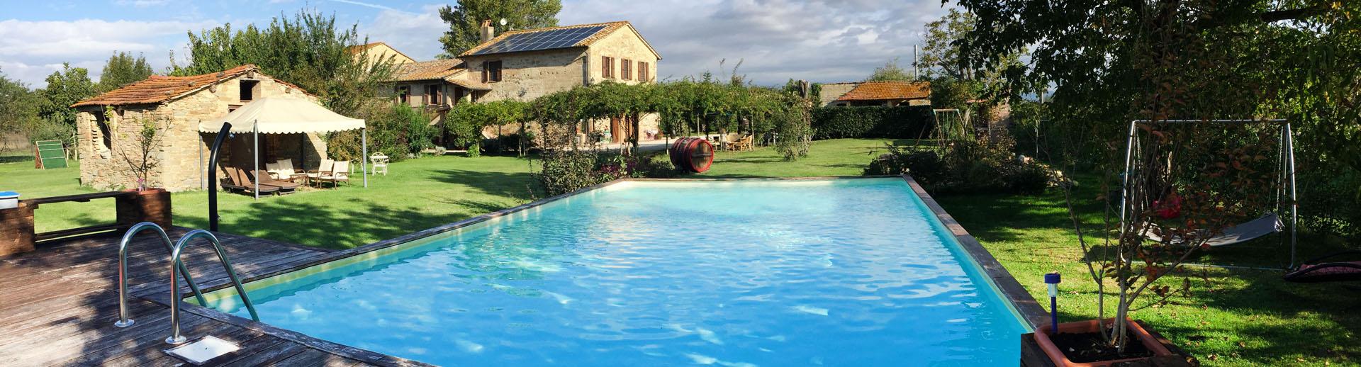 River Melody vacanza in Umbria tra Perugia e Assisi.